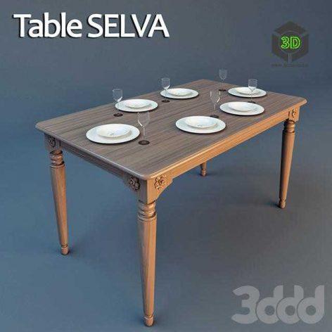 selva table (3ddanlod.ir)