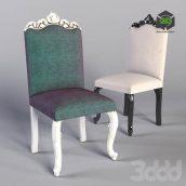 Дизайнерский стул для классического интерьера (3ddanlod.ir)