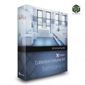 CGAXIS MODELS VOLUME 84 BATHROOMS III (3ddanlod.ir)