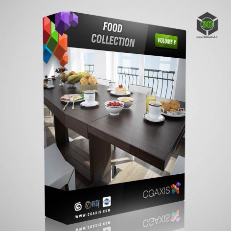 CGAxis - 08 Food cover (3ddanlod.ir)