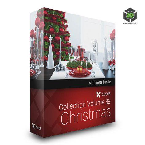 CGAxis - Models Volume 39 3D Christmas (3ddanlod.ir)