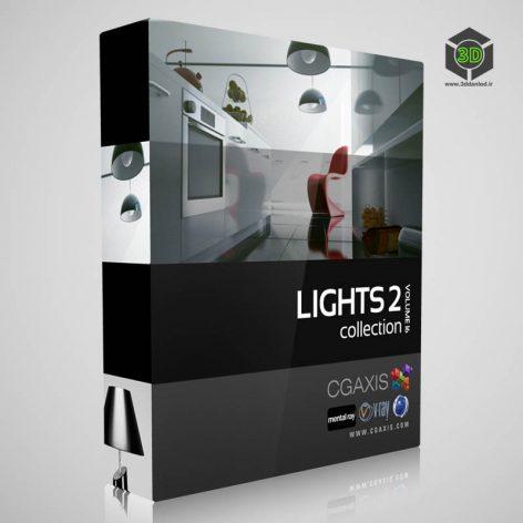 CGAxis.Models.Volume.16.Lights.II cover (3ddanlod.ir)