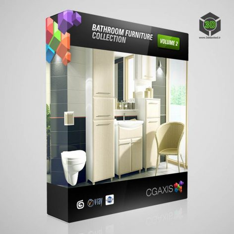 CGAxis.Models.Volume.2.Bathrooms (3ddanlod.ir)