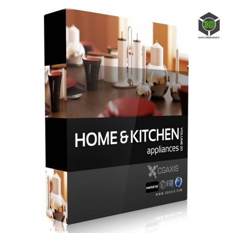 CGAxis.Models.Volume.20.Home.Kitchen.Appliances cover (3ddanlod.ir)