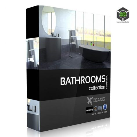 CGAxis.Models.Volume.22.Bathrooms cover (3ddanlod.ir)