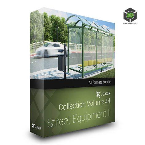CGAxis.Models.vol.44.Street.EquipmentII cover(3ddanlod.ir)