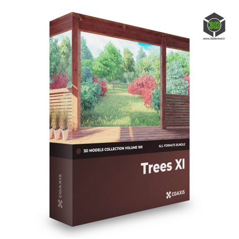 CGAxisTrees3DModelsCollectionVolume100 cover (3ddanlod.ir)