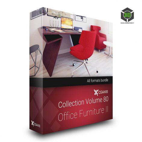 CGaxis.Models.Volume.80.Office.Furniture.II cover (3ddanlod.ir)