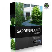 Cgaxis-Models Volume.019 Garden Plants cover (3ddanlod.ir)