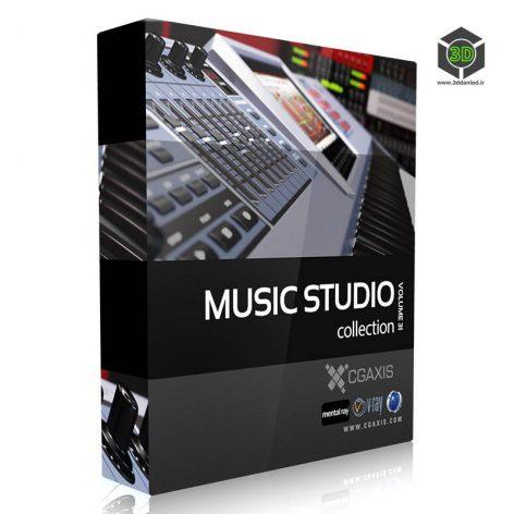 Cgaxis-Models Volume.031 Music Studio cover (3ddanlod.ir)