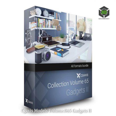 Cgaxis Models Volume.065 Gadgets II cover (3ddanlod.ir)