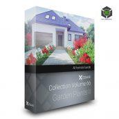 Cgaxis Models Volume.066 Garden Plants II cover(3ddanlod.ir)