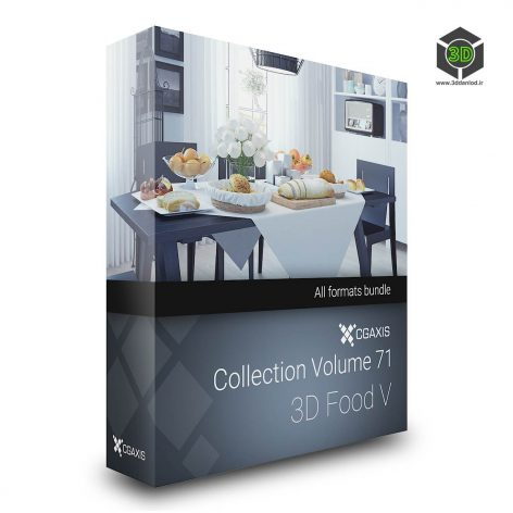Cgaxis Models Volume.071 3d Food V cover (3ddanlod.ir)