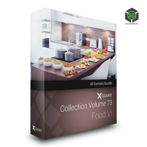 Cgaxis Models Volume.073 3d Food VI cover (3ddanlod.ir)