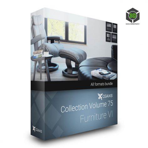Cgaxis Models Volume.075 Furniture VI cover (3ddanlod.ir)