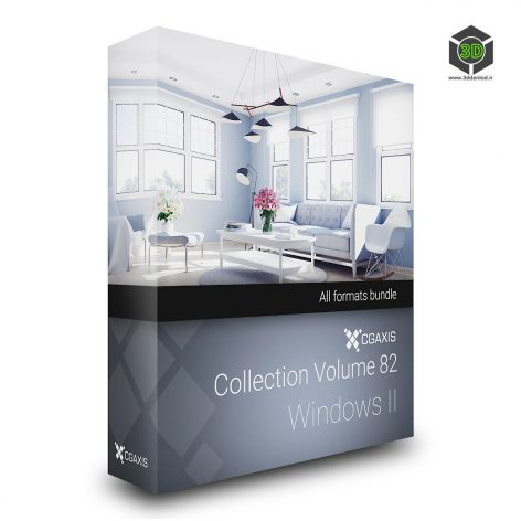 Cgaxis Models Volume.082 Windows II cover(3ddanlod.ir)
