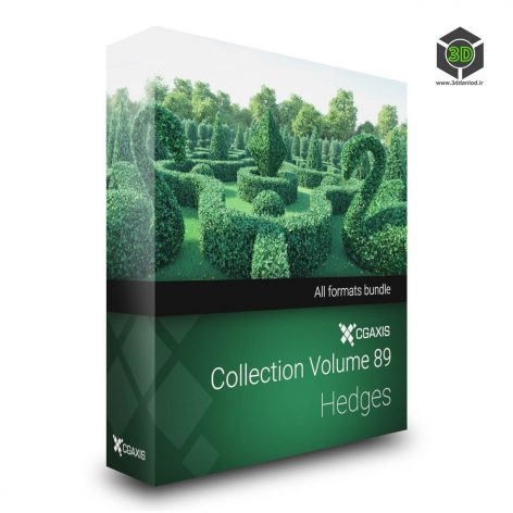Cgaxis Models Volume.089 Hedges 3d cover(3ddanlod.ir)