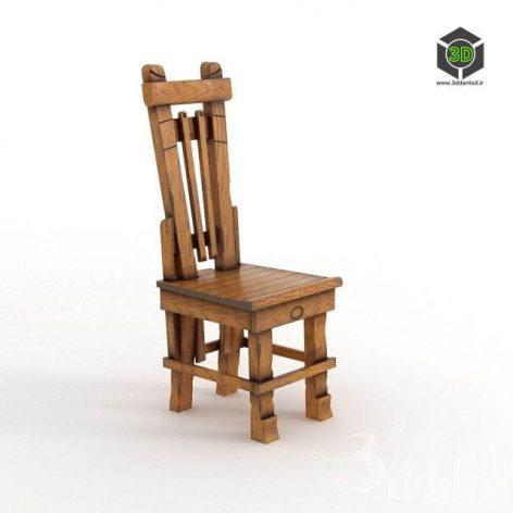 دانلود مدل سه بعدی صندلی پست مدرن 370