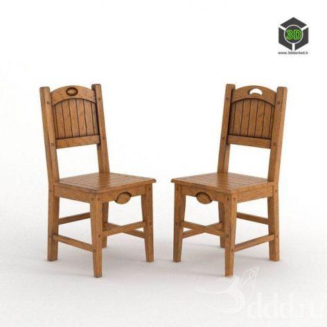 دانلود مدل سه بعدی صندلی مدرن 371