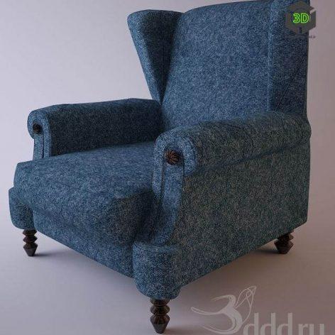 دانلود مدل سه بعدی صندلی پست مدرن 388