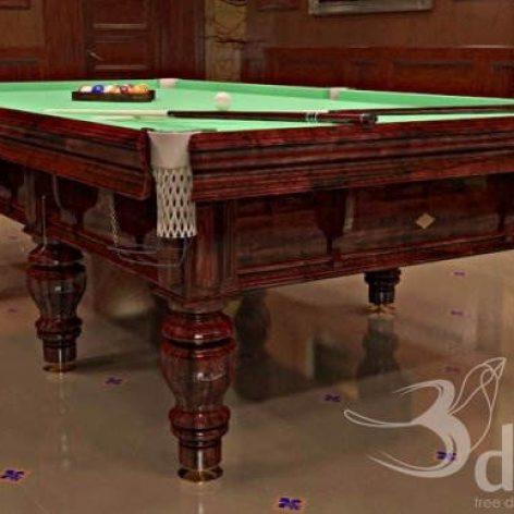 دانلود مدل سه بعدی میز بیلیارد 037