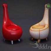 Bretz 159A Jeanny Chair (3ddanlod.ir)
