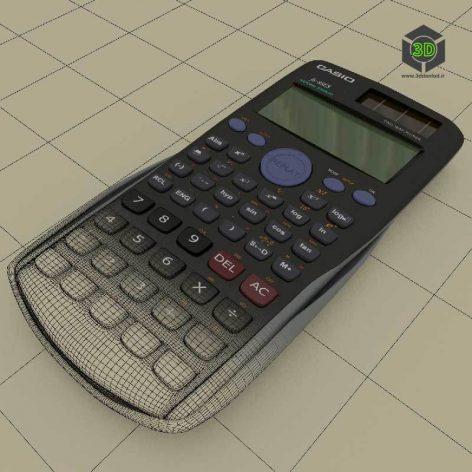 Calculator Casio fx-85ES (3ddanlod.ir)