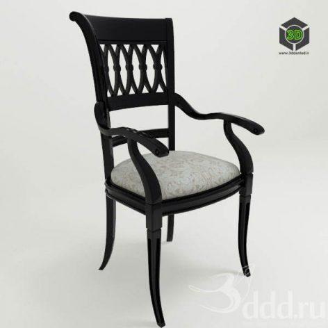 دانلود مدل سه بعدی صندلی کلاسیک 400