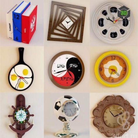 Clock_Walls (3ddanlod.ir)