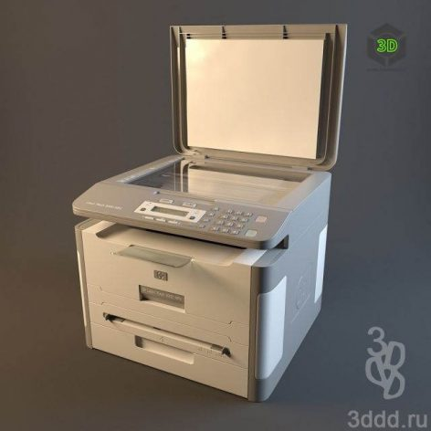دانلود مدل سه بعدی دستگاه فتوکپی 012