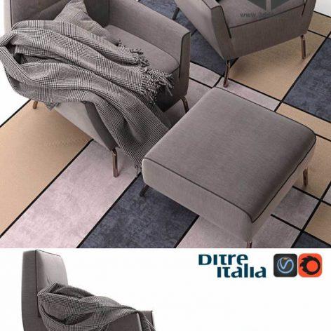 دانلود مدل سه بعدی صندلی مدرن 423