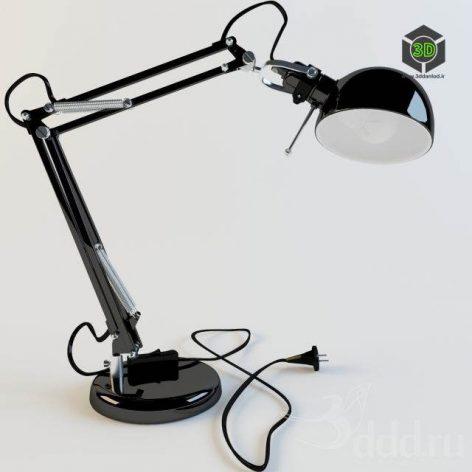 دانلود مدل سه بعدی چراغ مطالعه 041