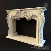Fireplace Oktopulos (3ddanlod.ir)