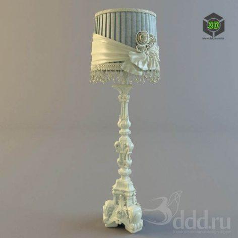 Floor lamp_Decor classic (3ddanlod.ir)