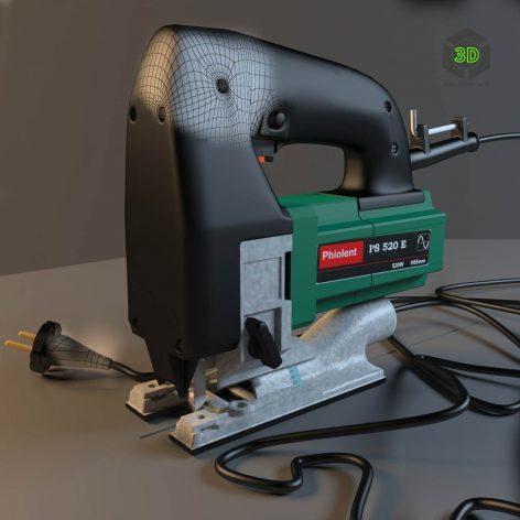 Jigsaw Phiolent 520E tool (3ddanlod.ir)