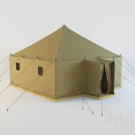 Military tent (3ddanlod.ir)