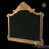 Mirror_Frame_Classic_Molding (3ddanlod.ir)