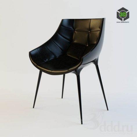 دانلود مدل سه بعدی صندلی مدرن 416