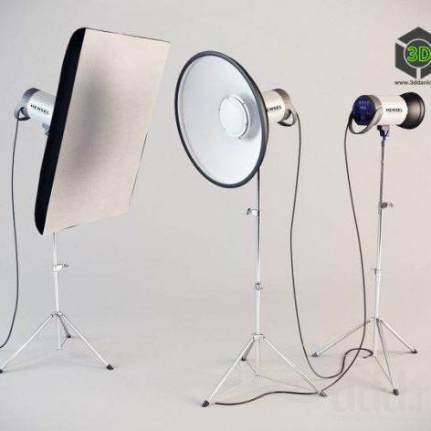 Photo Equipment_Floodlights, reflectors, spotlights (3ddanlod.ir)