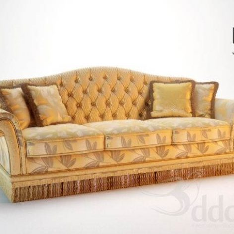 دانلود مدل سه بعدی کاناپه کلاسیک 506