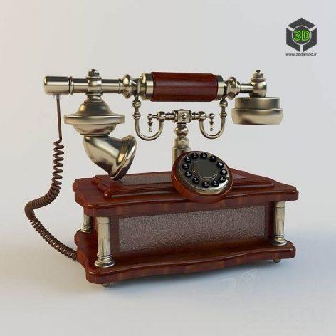 Retro Phone (3ddanlod.ir)