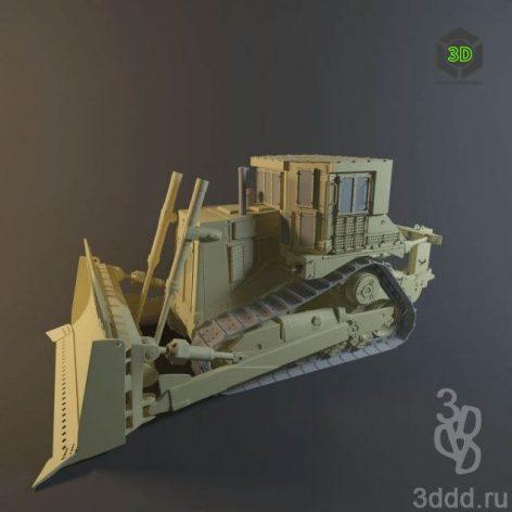 Tractor Bulldozer (3ddanlod.ir)