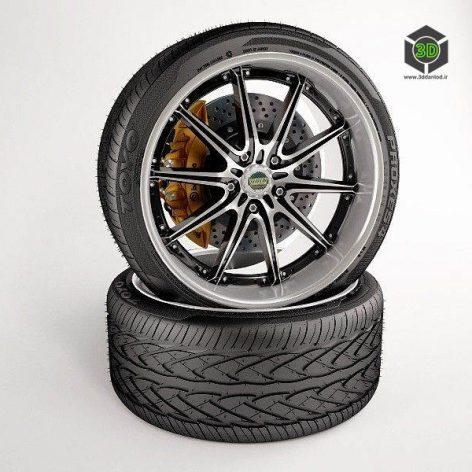 Wheel. Tire TOYO PROXES4. Disc VOLK RACING. BREMBO GOLD Brake (3ddanlod.ir)