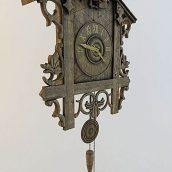 Wood Wall Clock (3ddanlod.ir)