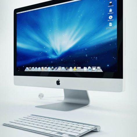 apple-imac-27 monitor,wireless keyboard,magic mouse (3ddanlod.ir)