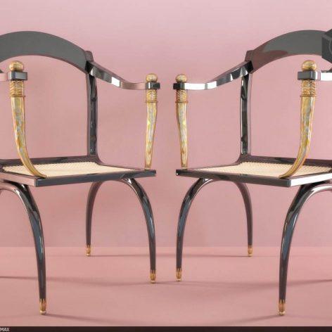 دانلود مدل سه بعدی صندلی پست مدرن 374