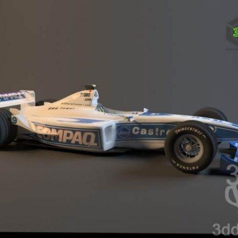 دانلود مدل سه بعدی ماشین مسابقه 028