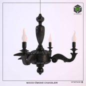 chandelier moooi Smoke chandleir (3ddanlod.ir)