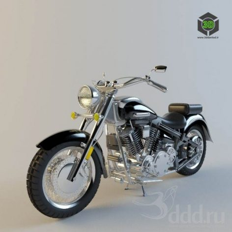 دانلود مدل سه بعدی موتور 003