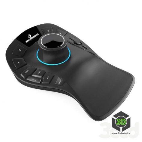 3D Connexion Space Mouse PRO(3ddanlod.ir)
